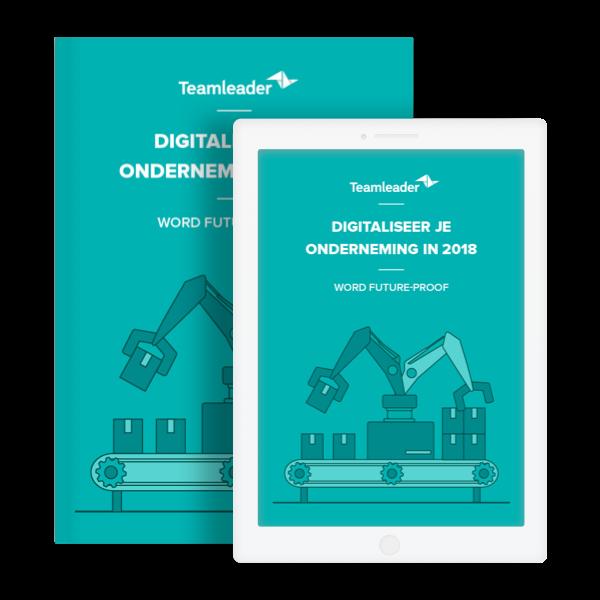 Ebook digitaliseer je onderneming 2018